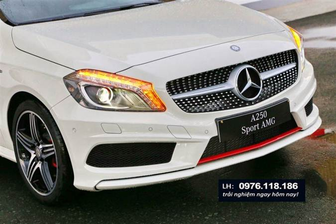 Mercedes A250 AMG 2014 ngoai that (1)