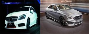 Mercedes A250 và Mercedes CLA250