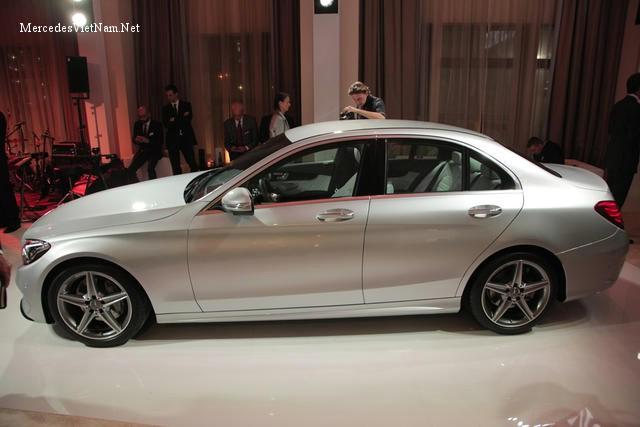 Hình ảnh Mercedes C200 phiên bản 2015