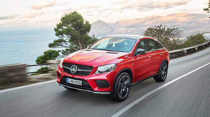 Mercedes GLE 400 Coupe 4Matic