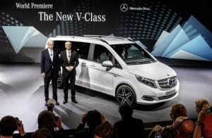 Mercedes V-Class 2015