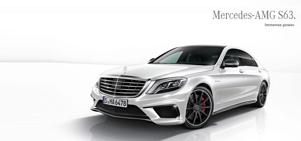 Mercedes S63 AMg