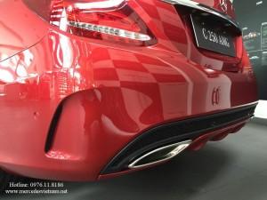 Mercedes C300 AMG đỏ (12)