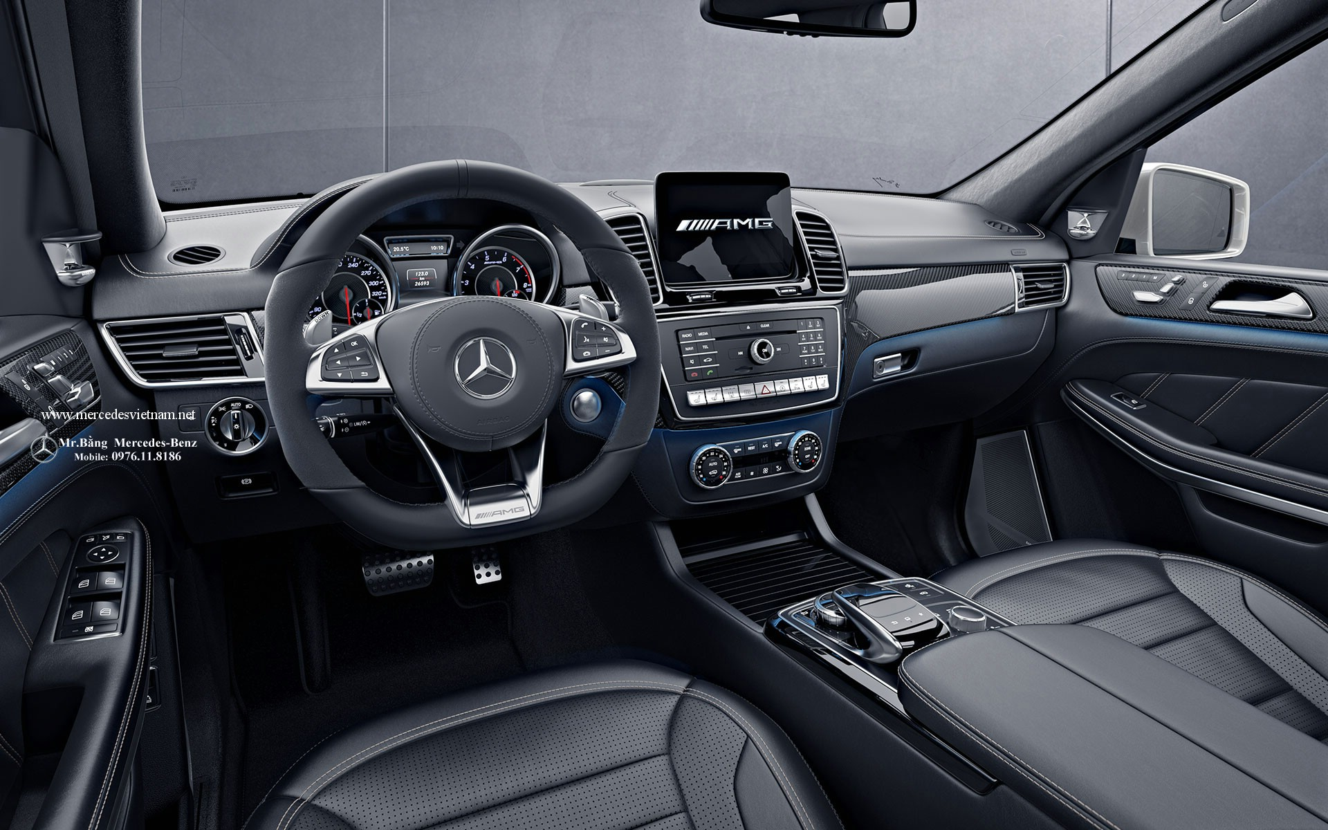 Mercedes AMG GLS 63 4Matic 2016 2017 (2)