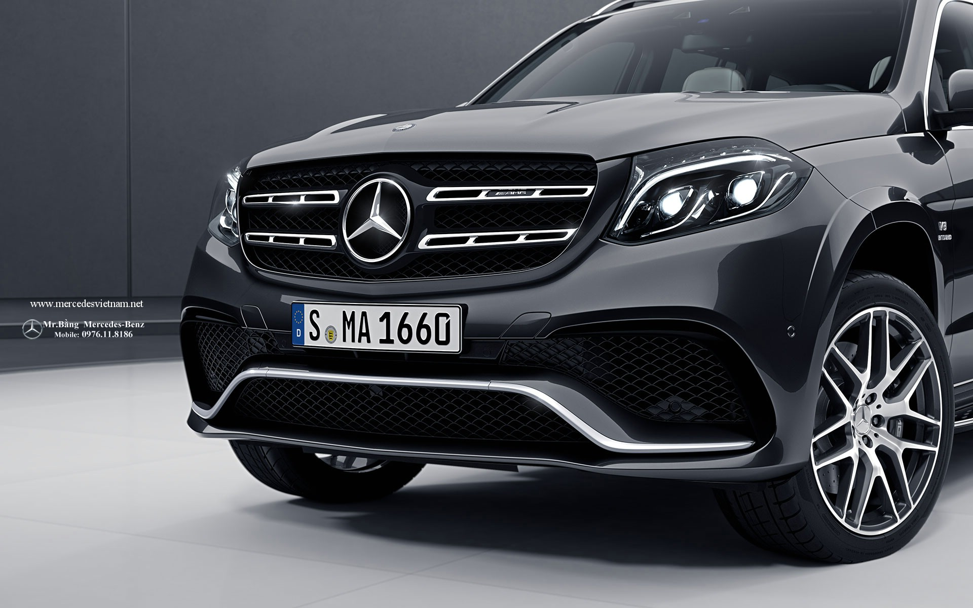 Mercedes AMG GLS 63 4Matic 2016 2017 (2)
