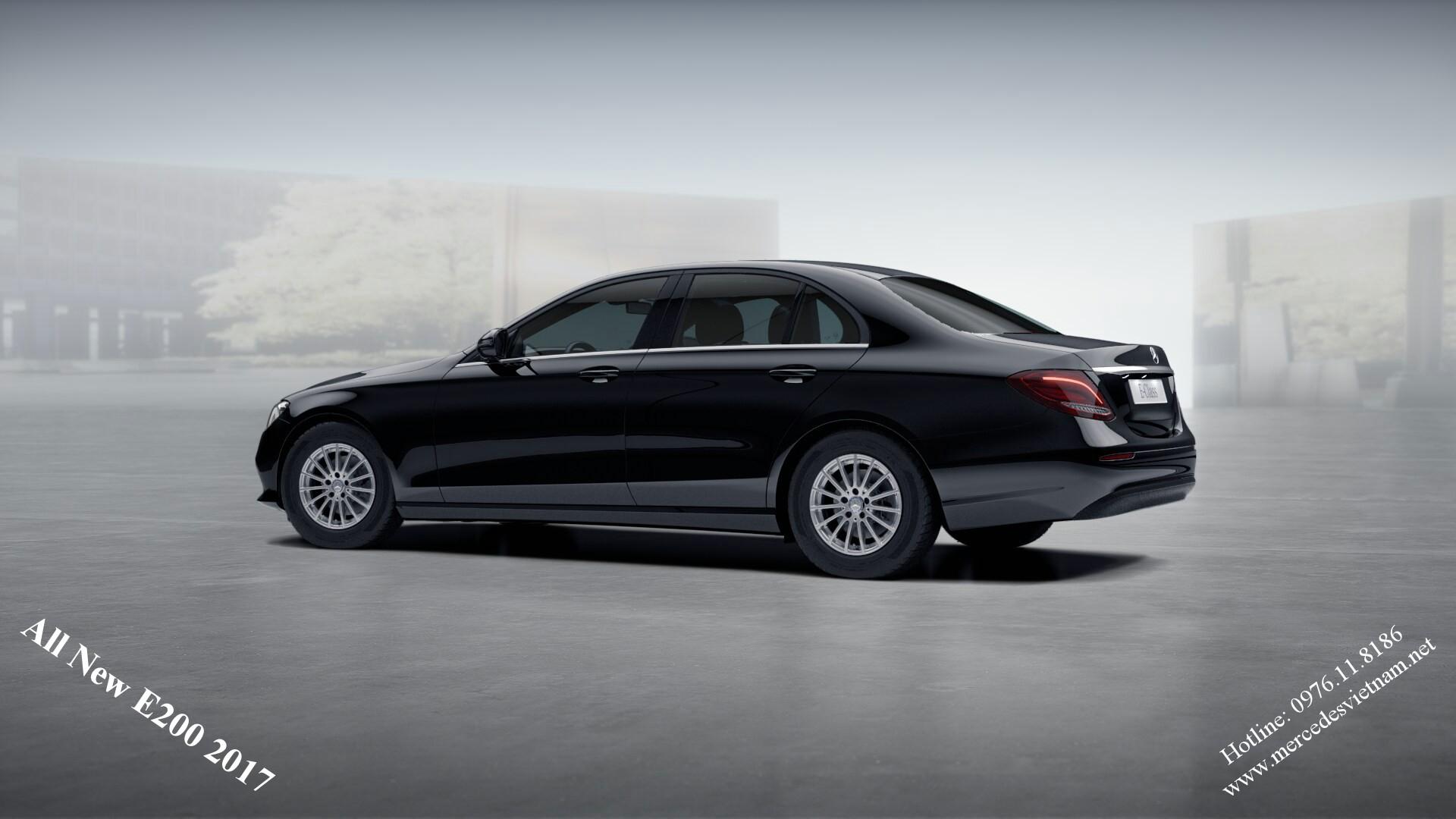 All New Mercedes E200 2017 (3)