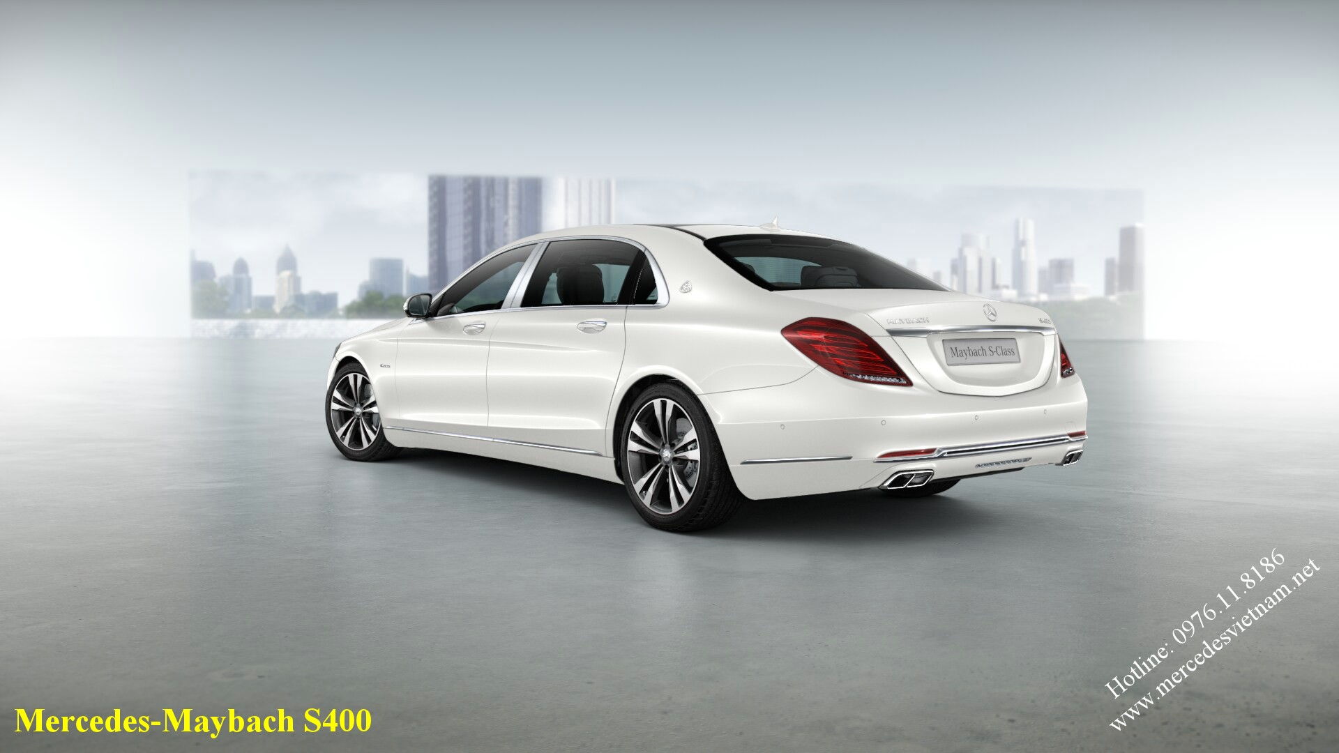 Mercedes-Maybach S400 2017