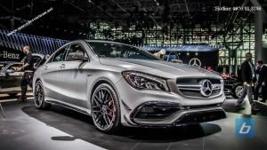 Mercedes AMG CLA 45 4Matic 2017 moi