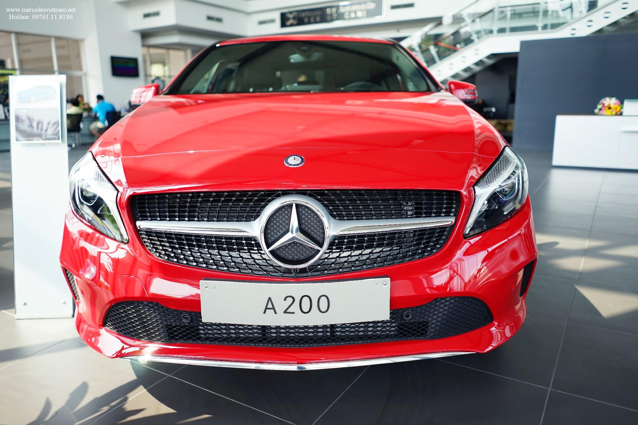 Mercedes A200 2019 thay đổi mới hoàn toàn