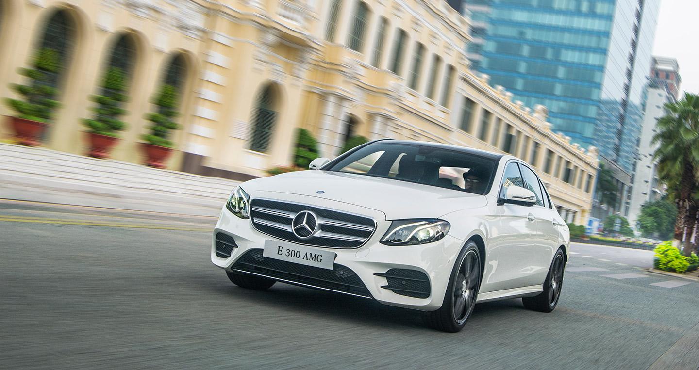 Mercedes E300 2019 thể thao