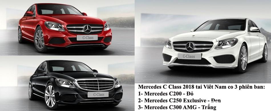 Mercedes C200 , Mercedes C250 và Mercedes C300 AMG