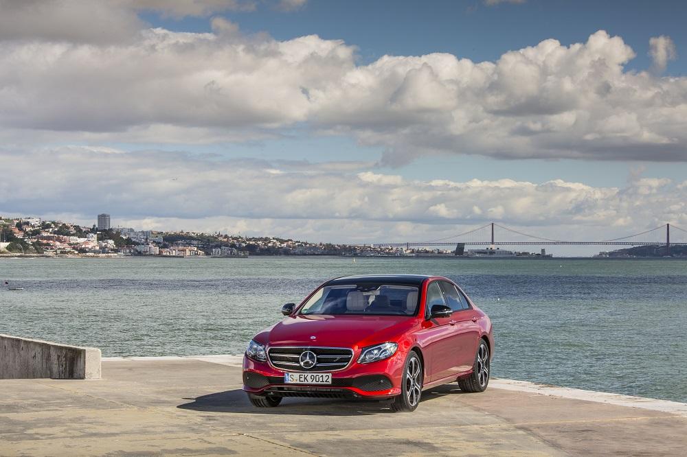 The new E-Class, Press Test Drive, Lisbon 2016