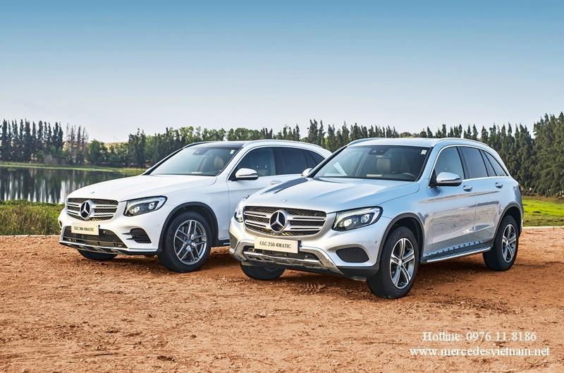 so sanh Mercedes GLC 250 2018 và Mercedes GLC 300 2018 (1)