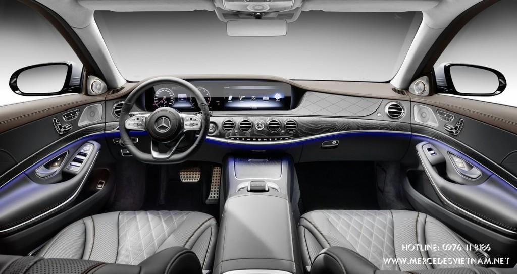 Mercedes S-Class 2018 ra mat trang bi hop so moi (2)