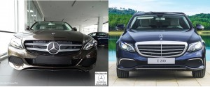 so sanh mercedes c200 va mercedes e200 2018