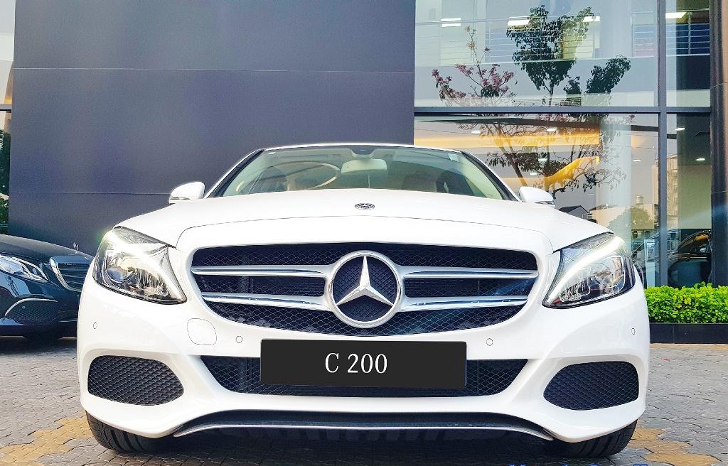 Tiện nghi , hiện đại , an toàn của chiếc xe Mercedes C200