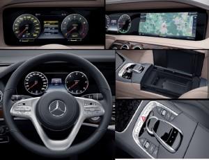 Mercedes S450 với khả năng vận hành vượt trội đối thủ cùng phân khúc
