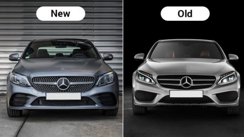 Sự khác biệt giữa thế hệ mới và cũ Mercedes C-Class facelift 2019 (1)