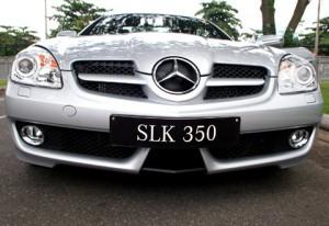 Mercedes SLK350 2009