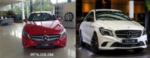 Mercedes A200 và Mercedes CLA200