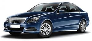a Mercedes-Benz C200 BlueEFFICIENCY