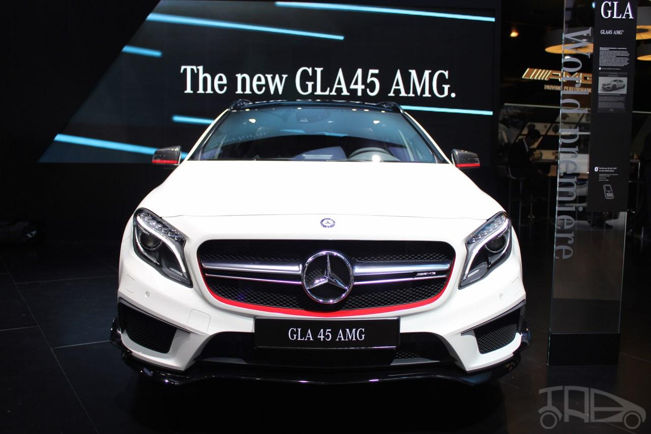 Mercedes AMG GLA45 2018