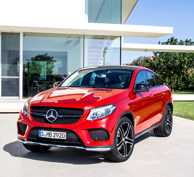 Mercedes-AMG GLE 43 coupe