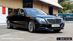 Mercedes MayBach S600