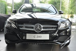 Mercedes C200 2017 mot sieu pham cong nghe moi (1)