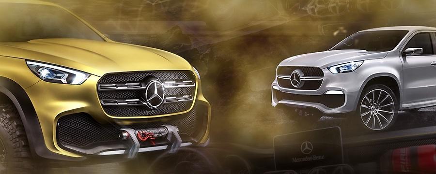 Mercedes X-Class 2018