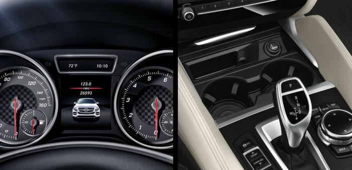 Mercedes GLE Coupe 2018 2019 va BMW X6 2018 2019 (4)