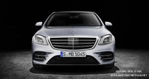 Mercedes S-Class 2018 ra mat trang bi hop so moi