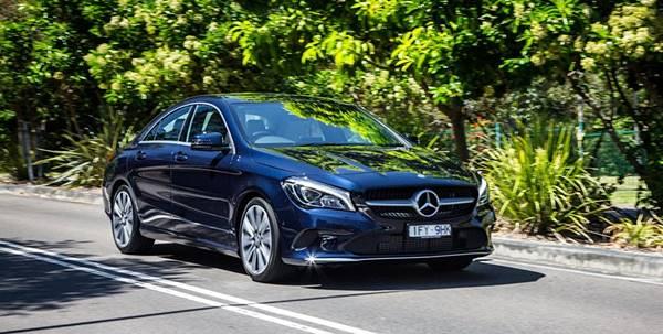 2018 Mercedes-Benz CLA200 Sedan Update design