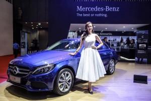 Diện mạo phong cách thể thao của phiên bản Mercedes C200