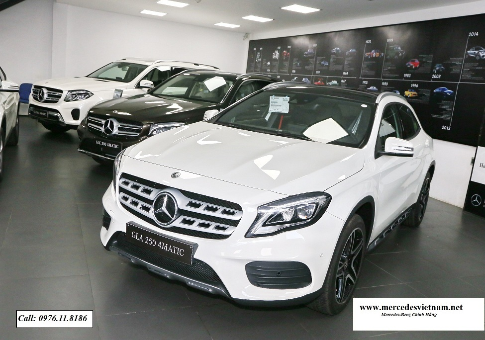 Mercedes GLA 250 4Matic 2018
