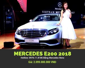 Mercedes E200 2018