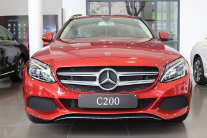 so huu xe mercedes c200 chi voi 500 tr (1)