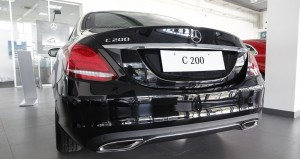 so huu xe mercedes c200 chi voi 500 tr (2)