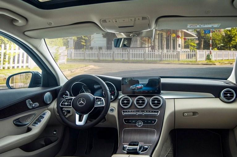 Mercedes C200 Exclusive 2021 giá bao nhiêu ?