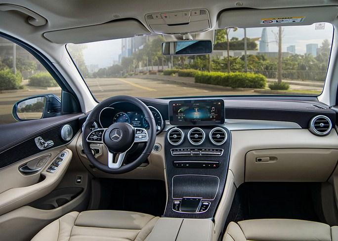 Mercedes GLC 300 2021 giá bao nhiêu?