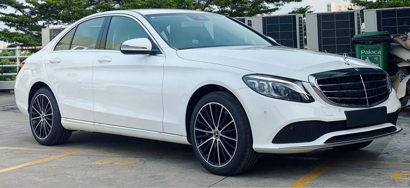 Bảng giá lăn bánh Mercedes C200 Exclusive