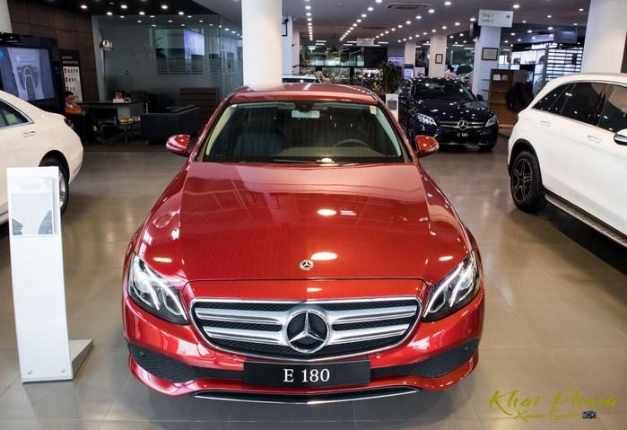 Bảng giá lăn bánh Mercedes E180