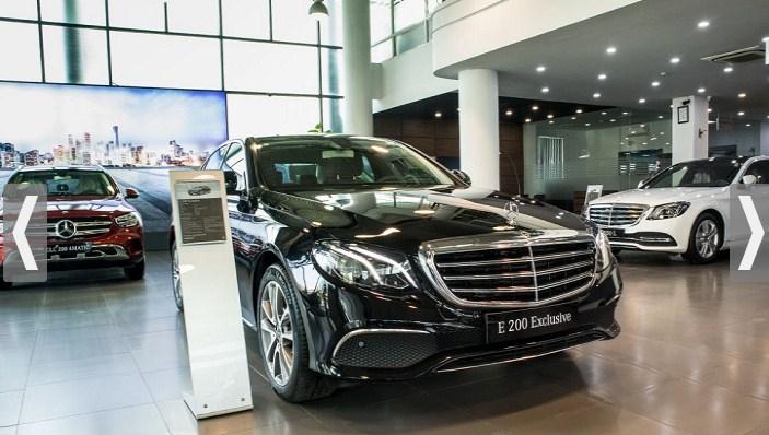Bảng giá lăn bánh Mercedes E200 Exclusive 2021