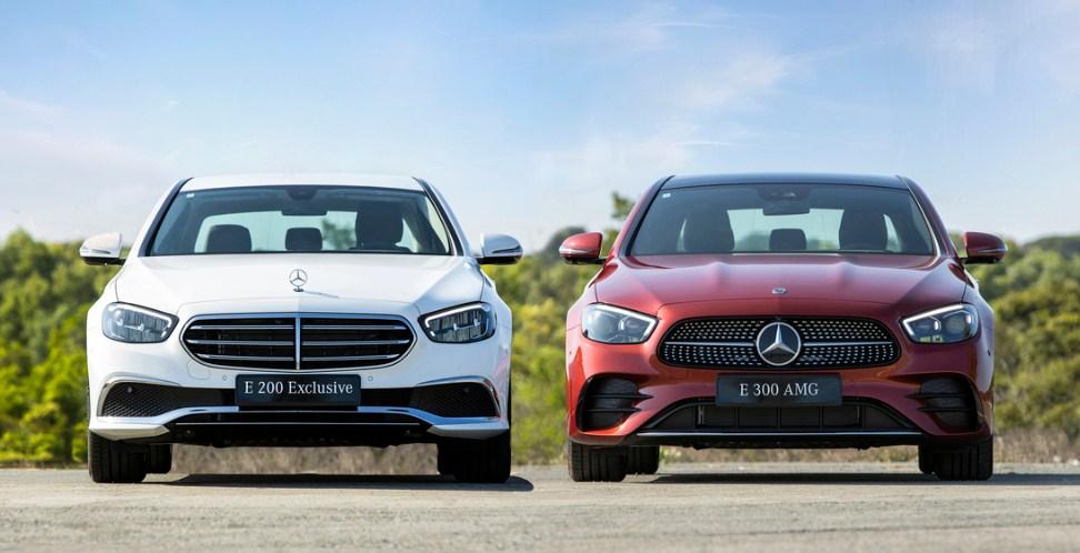 Bảng giá lăn bánh Mercedes E-Class