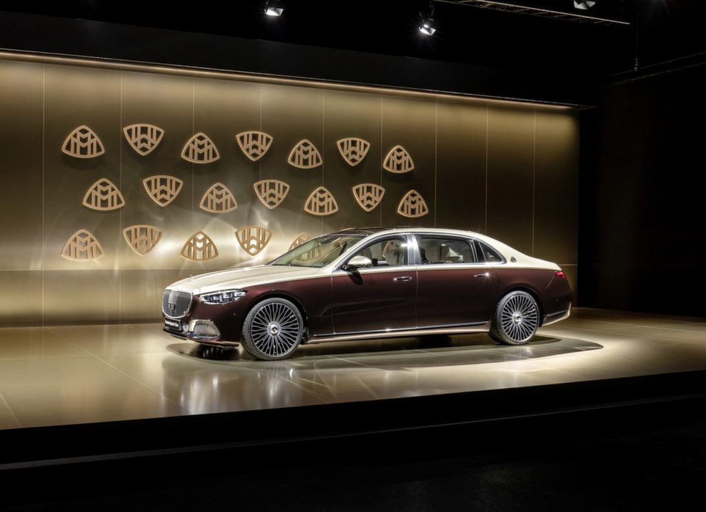 Mercedes Maybach S680 2022