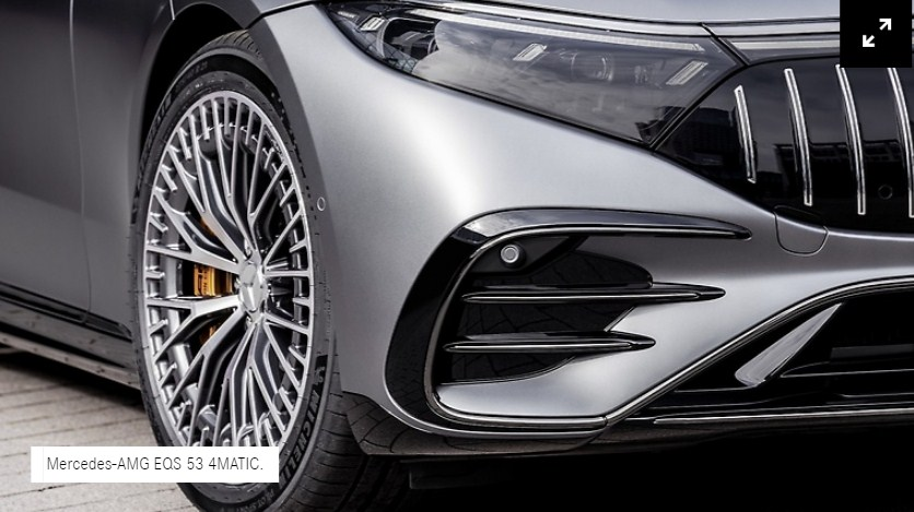 Mercedes-AMG EQS 53 4MATIC +100 phần trăm cảm xúc